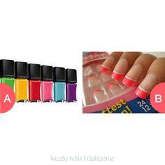 Nail polish or fake nails