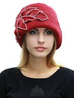 Шляпка Муза - Женские шапки - Из кашемира