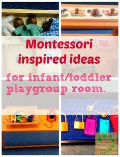 Our Montessori Inspired Toddler Home Environment in Pictures. | Montessori Nature