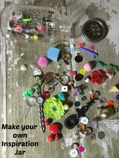 Does your child like to write stories? Make your Own Inspiration Jar.