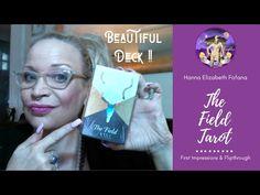 The Field Tarot : First Impressions & Flipthrough Tarot Reading, Tarot Decks, Fields, Indie, Daughter, Social Media, Etsy Shop, Watch, Videos