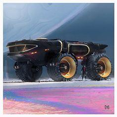 """Ideas Sci Fi Concept Art Cars Ideas Sci Fi Concept Art Ideas Sci Fi Concept Art Cars thecollectibles:""""Art by Fred Palacio"""" Cyberpunk Art Futuristic Cars, Futuristic Vehicles, Cyberpunk Art, In China, Science Fiction Art, Armored Vehicles, Future Car, Sci Fi Fantasy, Sci Fi Art"""