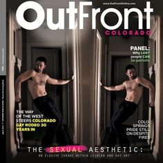 cover of OutFront Colorado July 4th art edition