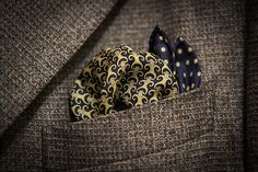How to Style a Monkey Pocket Square ;)