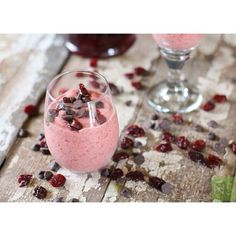 Tart Cherry Chia Pudding | Nutrition Stripped