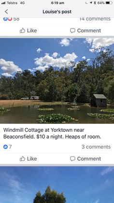 The Windmill, Yorkville Near Beaconsfield  $10/night Tas