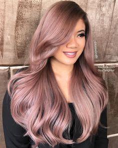 Long+Pastel+Pink+Hairstyle