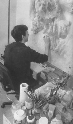 The French Painter Pascal Chove