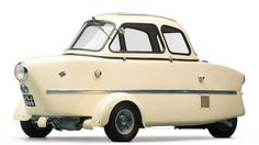 1955 Inter 175A Berline - $161,000. At the 1953 Paris Salon where it first premiered, it was presented as a practical cross between a nimble scooter and a car with protection from the elements. (Darin Schnabel/RM Auctions)