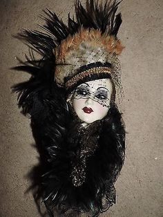 Unique Creations Limited Edition Lady Face Mask Wall Hanging Decor | Lady Face Mask Wall Hanging Decor | Pinterest | Lady face Wall hanging decor and Wall ...  sc 1 st  Pinterest & Unique Creations Limited Edition Lady Face Mask Wall Hanging Decor ...