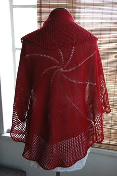 Noella Wrap By Holly Chayes - Purchased Knitted Pattern - (ravelry)