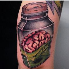 New school jar by Andy Robinson.                                                                                                                                                                                 More