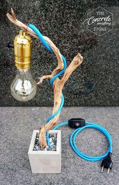 Manzanita Zweig Bonsai Lampe
