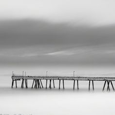 Pacifica, CA- the foggy pier