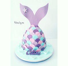 LOVE mermaid cake Más
