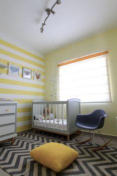 Una fresca y bonita habitación para bebé,  #babyroom, #nurseryroom, #yellownursery, #greyandyellow, #baby, #lovedecor ,#decoandlove, #habitacionbebe, #recamarabebe