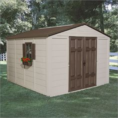 Plastic Resin Storage Sheds