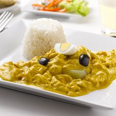Peruvian Aji de Gallina Recipe. Find more Peruvian recipes at http://www.perualacarte.com