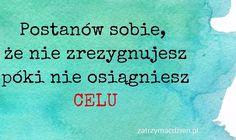 Dziś przesyłamy Wam moc pozytywnej energii i motywacji do działania! ❤️ Pamiętajcie, nigdy nie wolno się poddawać!! zatrzymcdzien.pl