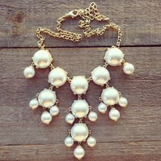 Grecian Pearl Bauble Necklace... MINE!