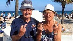 Keepin' it punk rock in Boca #oldpeople