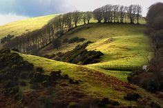 Meldon Quarry, on the edge of the Dartmoor National Park, Devon, UK