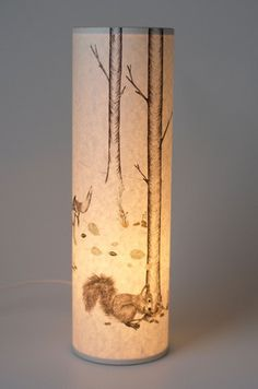 Woodland - Tall lamp – the shop of interest
