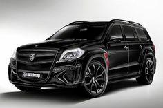 Larte Design Mercedes-Benz GL-Klasse Black Crystal GL 350 BlueTec V6 Diesel Onroad Offroad SUV Geländewagen Bodykit