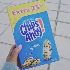 #ChipsAhoy #Cookies