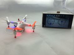 Features: High Intensity LED. 30W HD Camera & FPV APP. 3.7V 700mAh Lithium Battery. Left hand throttle and ready to fly. Built-in 6-axis Gyro System & 4 Channels. Build-in bracket on the transmitter can fix your phone. With a 0.3MP PFV camera, allows you to take photos and record video. C...