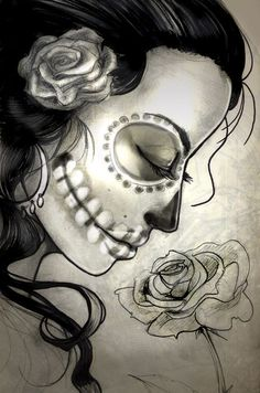 http://fc09.deviantart.net/fs71/f/2012/241/2/9/sugar_skull_woman_sketch_by_sabtastic-d5cuz8c.jpg