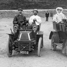 "photo: ""Boy racers at Bunmahon, Co. Waterford, Ireland - 1906 Via National Library of Ireland Waterford Ireland, Road Trippin, Vintage Photos, Antique Cars, Boys, Image, Instagram, Autos, Vintage Cars"