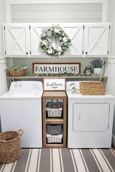 Laundry Room Remodel, Laundry Room Organization, Laundry Room Design, Storage Organization, Smart Storage, Laundry Storage, Storage Ideas, Storage Shelves, Laundry Decor