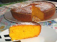 Cinco sentidos na cozinha: Bolo de manga e laranja