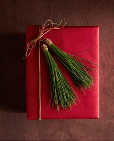 Gift Wrap Ideas (9): Plants and Flowers