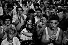 Letizia Battaglia, photo | borne 1935, Italy | After a killing, Palermo, 1986