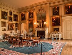The Dining Room of Petworth House