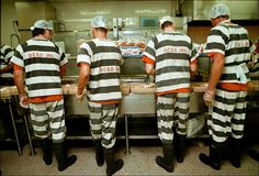 The chow line at a Texas prison served up something unexpected to prisoners — dog food.
