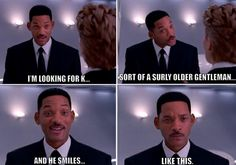 MIB3 isn't even out yet, but I love this scene from the commercials!