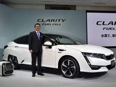 HONDA FUEL CELL CAR  - Clarity