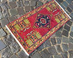 Turkish rug Vintage rug Handmade rug Oushak rug by DRNRUGS Boho Decor, Bohemian Rug, Soft Rugs, Decorative Rugs, Handmade Rugs, Handmade Gifts, Entryway Rug, Geometric Rug, Hand Knotted Rugs