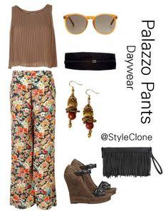 Runs with lipstick ~plazzo pants #plazzopants #outfit