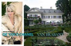 Zó woont Marjan Strijbosch, de 'Coco Chanel' van Brabant. Alleen al dat huis!    Bekijk de hele reportage van 14 (!) pagina's in het gloednieuwe nummer van GOOISCH, nu overal verkrijgbaar.