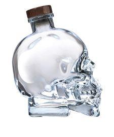 Crystal Head Vodka. Dan Aykroyd makes a good drink!