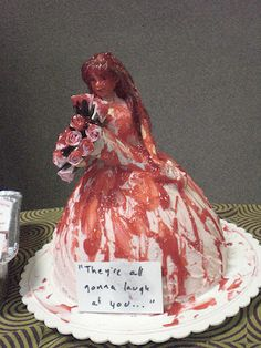 Carrie cake. OMG, I am going to try to make this!!!