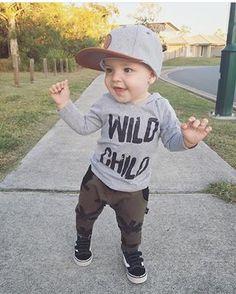 Toddler Boy Fashion, Toddler Outfits, Baby Boy Outfits, Toddler Boys, Baby Kids, Kids Outfits, Kids Fashion, Baby Boy Swag, Cute Baby Boy