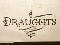 Draughts // by Abi