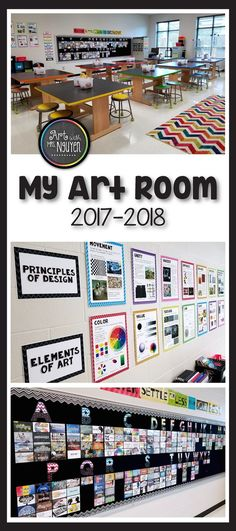 All about my newly decorated art room for the 2017-2018 school year! Art with Mrs. Nguyen