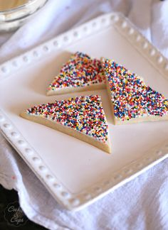 Fairy Bread Cookies - Cookies and Cups
