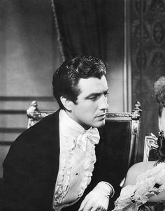 Robert Taylor y Greta Garbo en La Dama de las Camelias